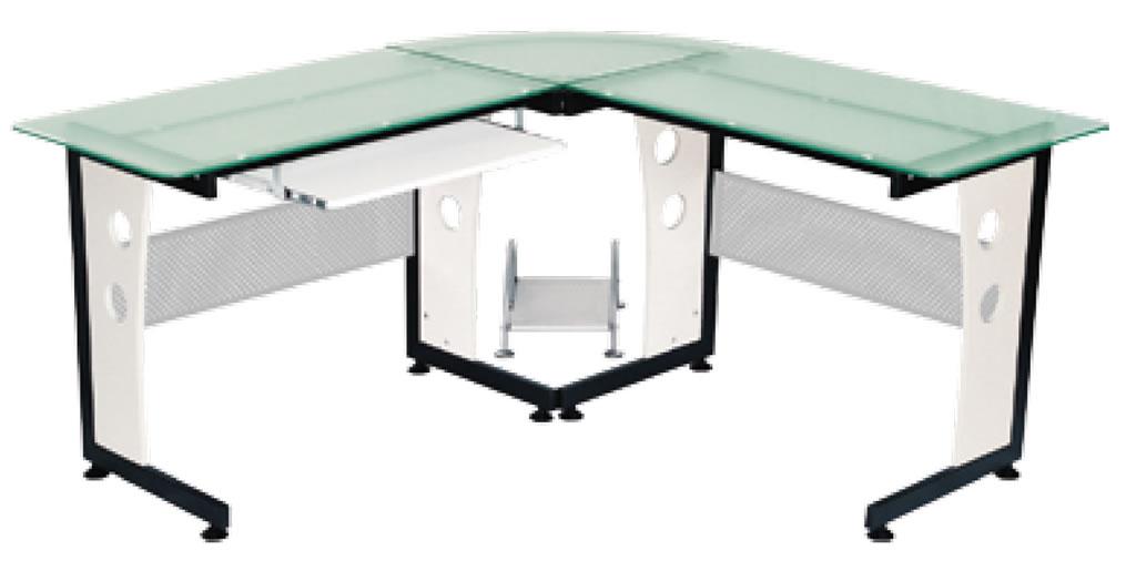 Escritorio vidrio niagara sistemas y muebles bucaramanga for Muebles de oficina vidrio